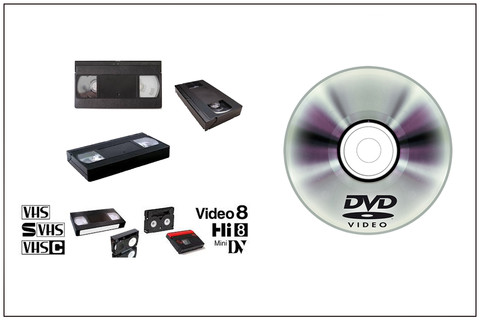 Peliculas de video a DVD