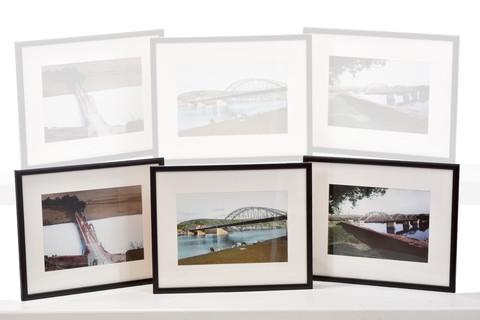 Puente de Hierro sobre el Alagón