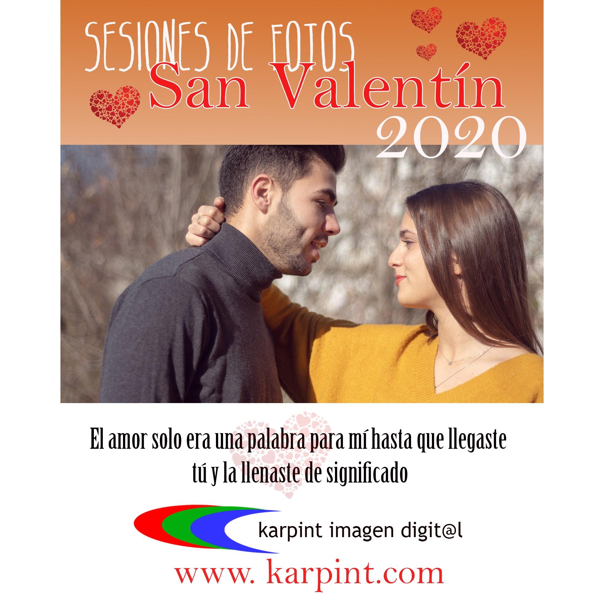 i sesiones san valentín 2020